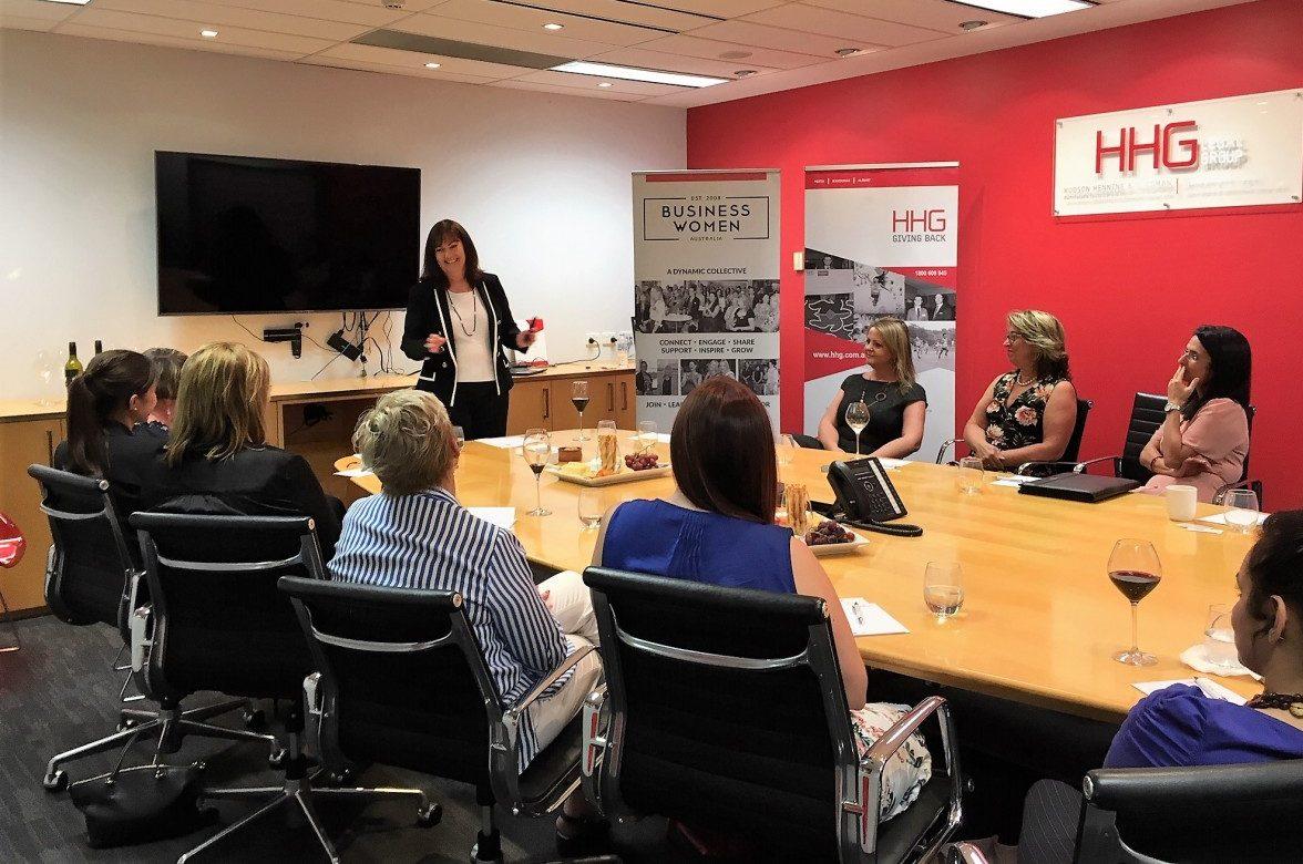 Paula Smith presents Executive Pitching